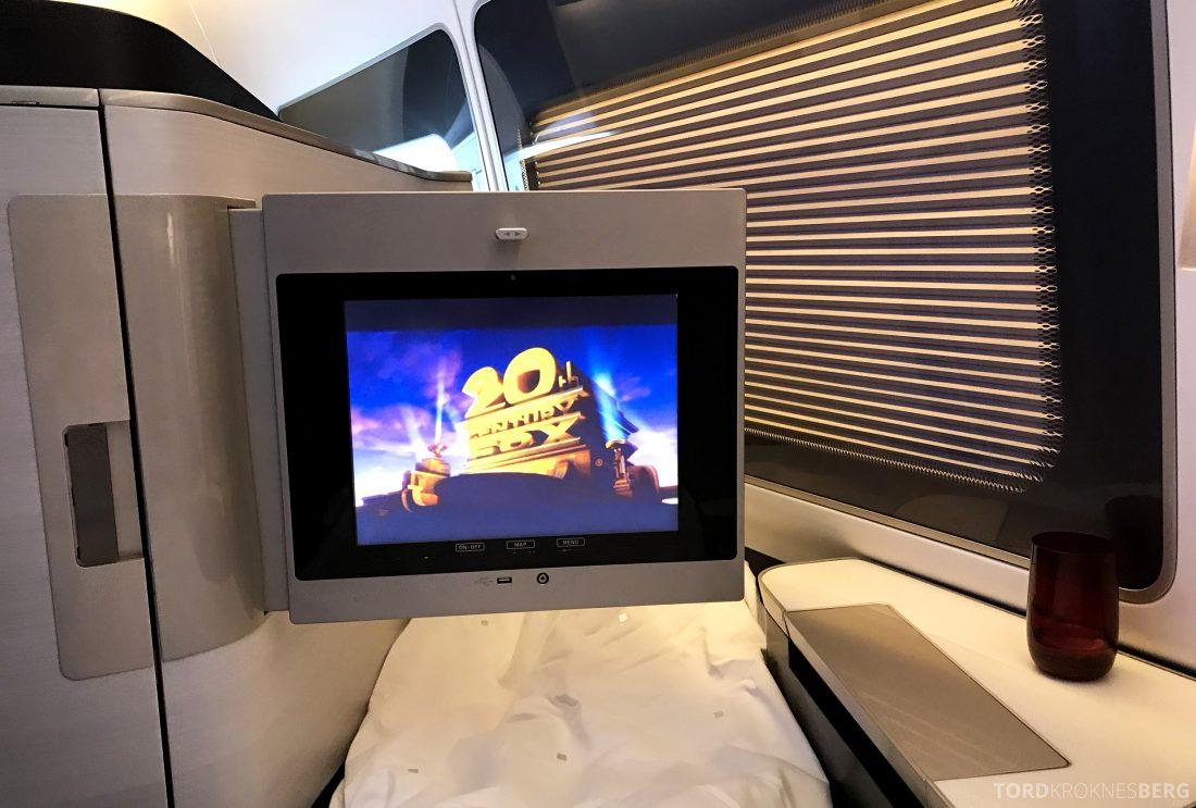 British Airways First Class London Miami film