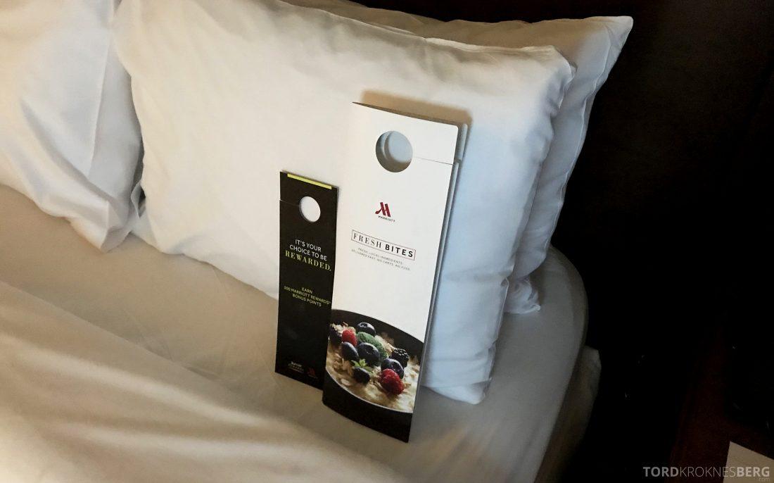 Miami Airport Marriott Hotel frokost på sengen