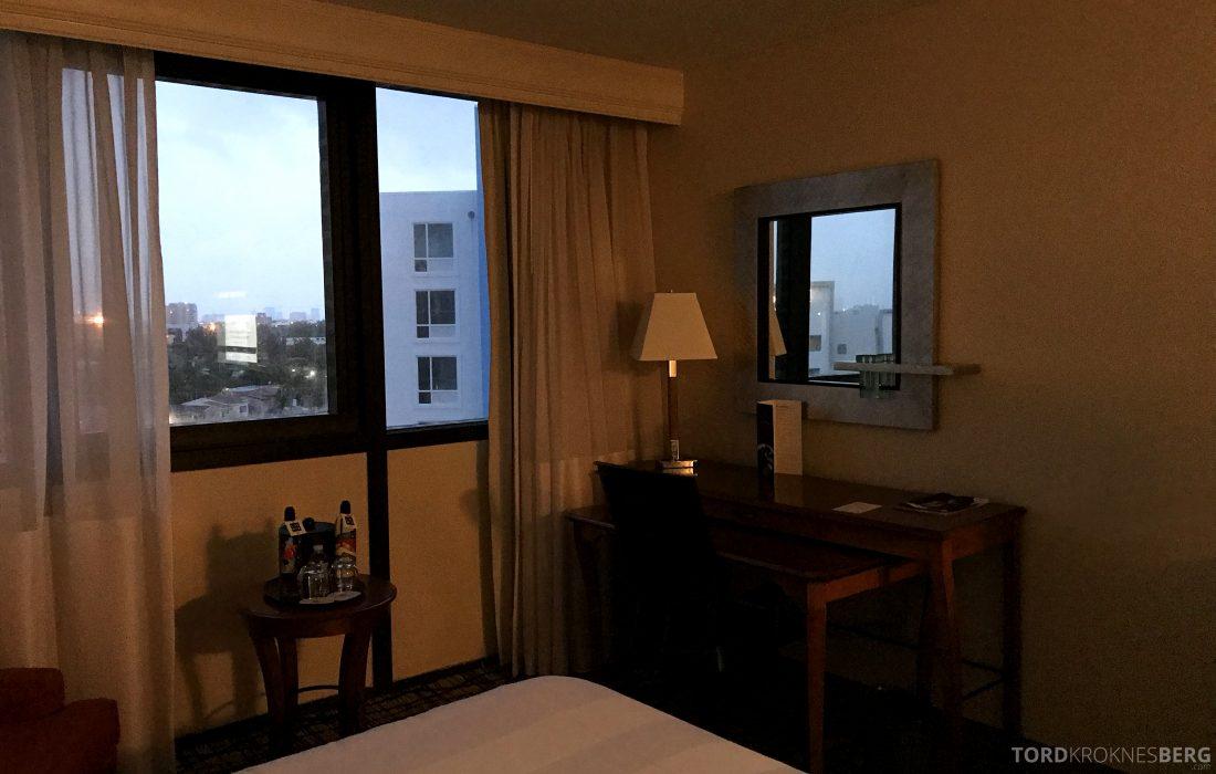 Miami Airport Marriott Hotel værelse