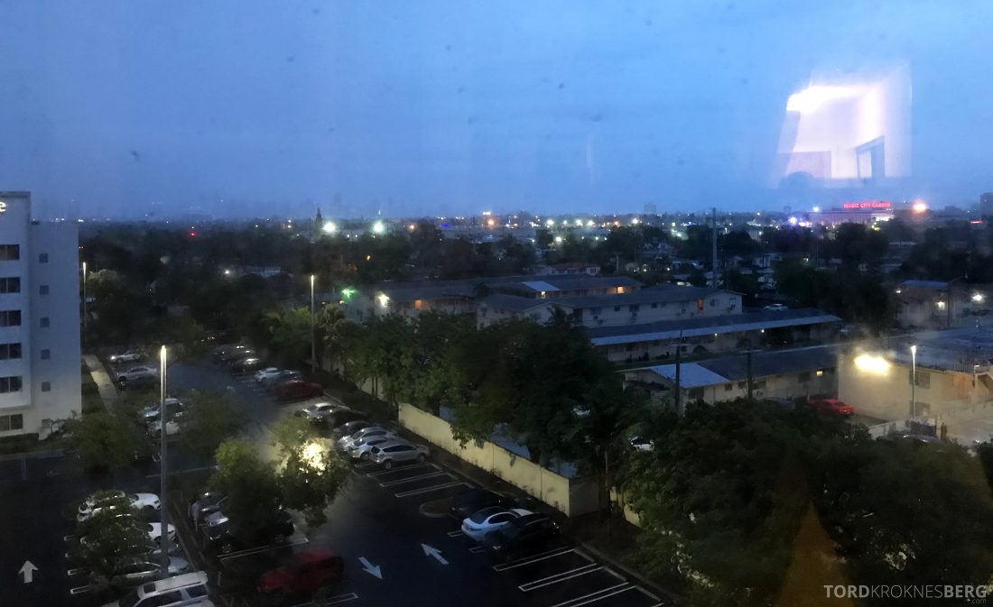 Miami Airport Marriott Hotel utsikt