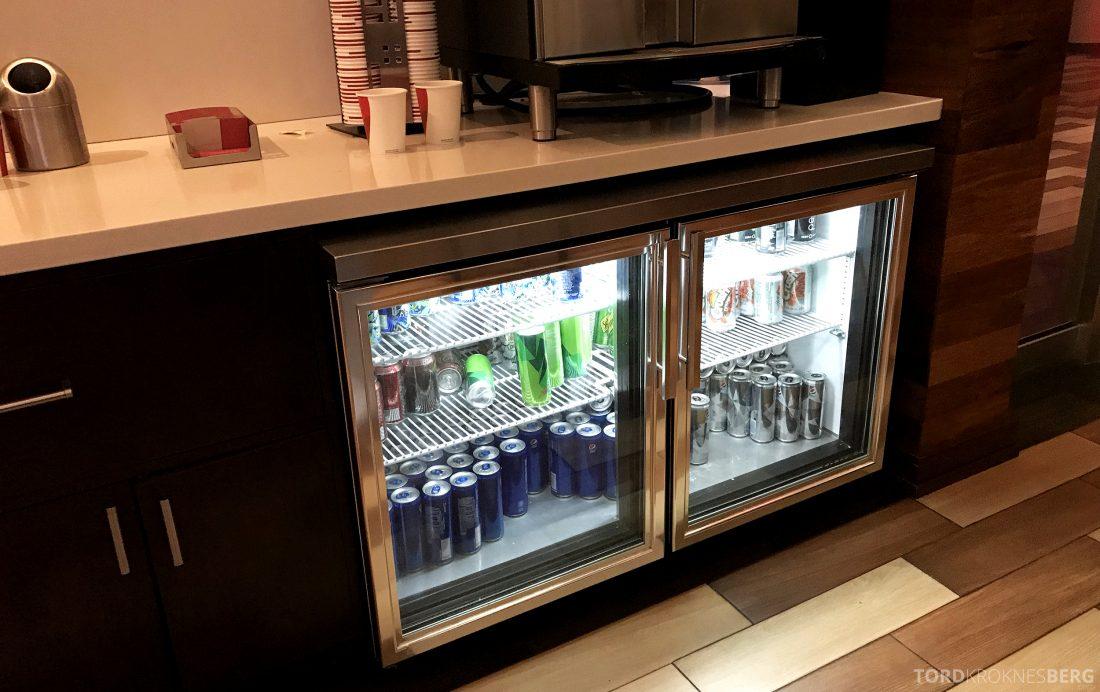 Miami Airport Marriott Hotel M Club Lounge drikke