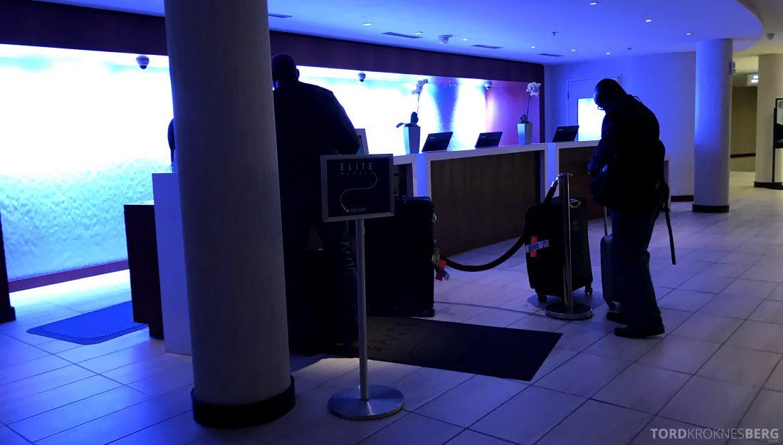 Miami Airport Marriott Hotel resepsjon