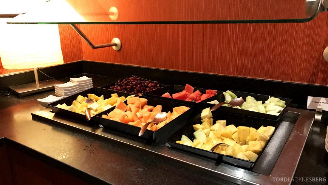 Miami Airport Marriott Hotel frokostbuffet