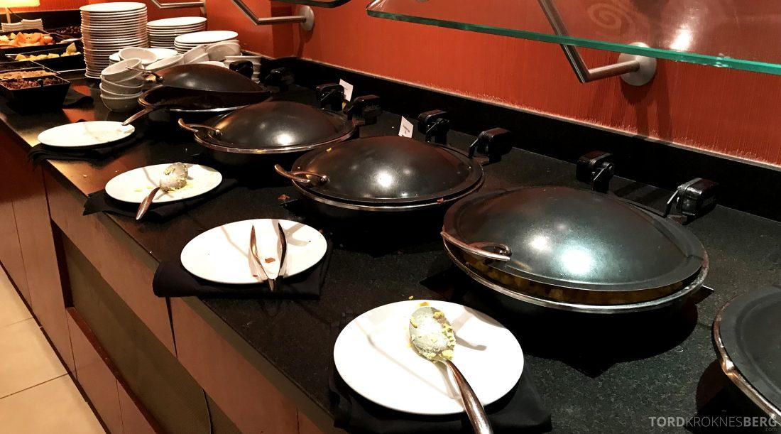 Miami Airport Marriott Hotel frokost varmmat