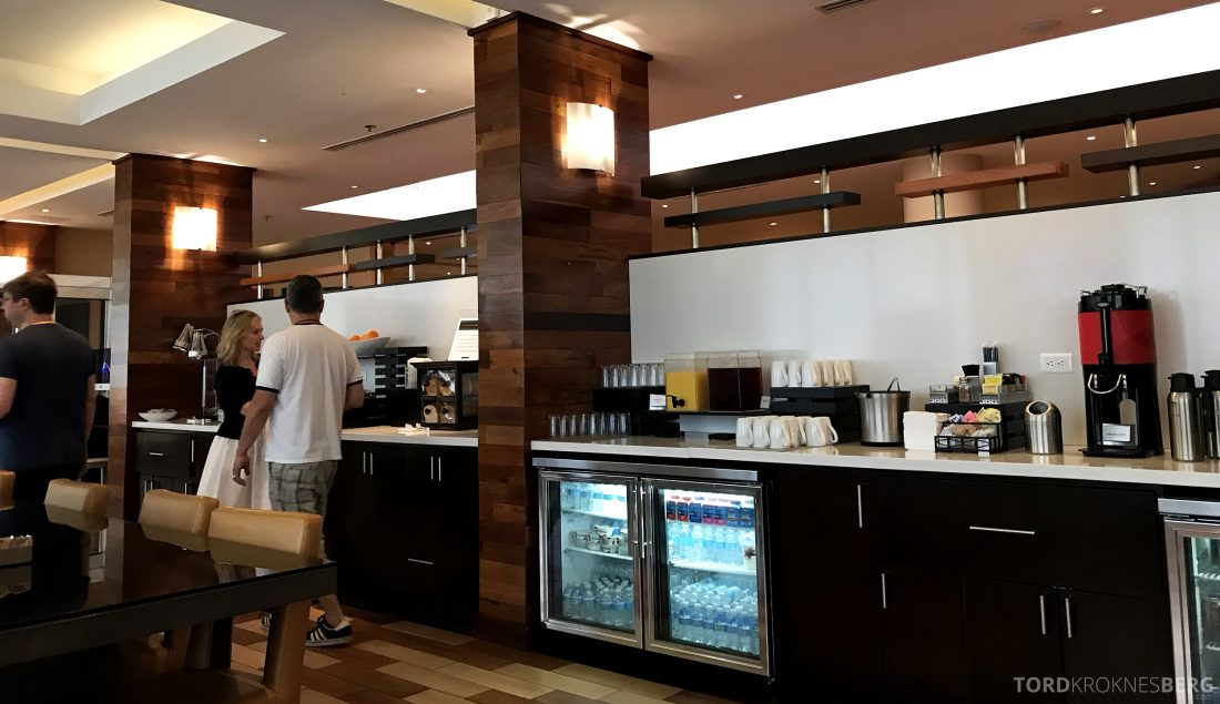 Miami Airport Marriott Hotel frokost M Club Lounge