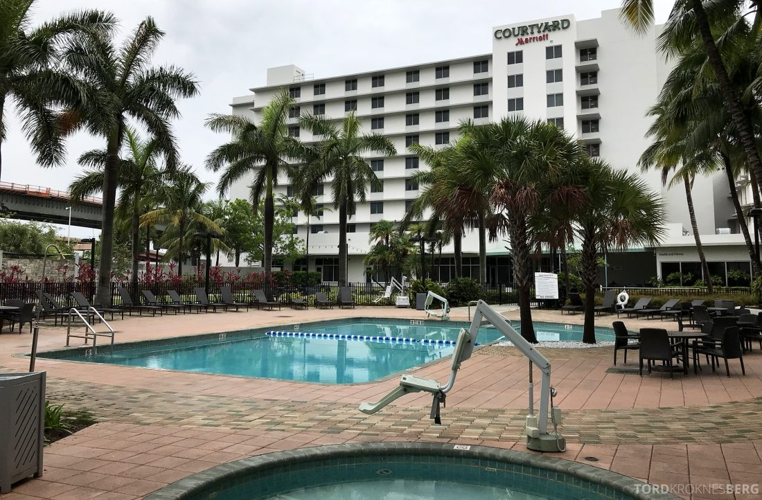 Miami Airport Marriott Hotel basseng