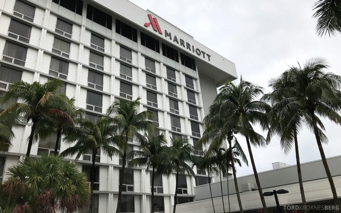 Miami Airport Marriott Hotel fasade