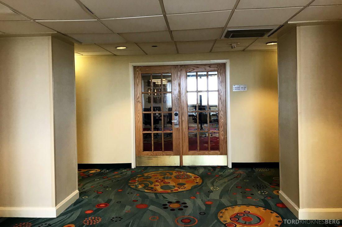 Miami Airport Marriott Hotel møterom