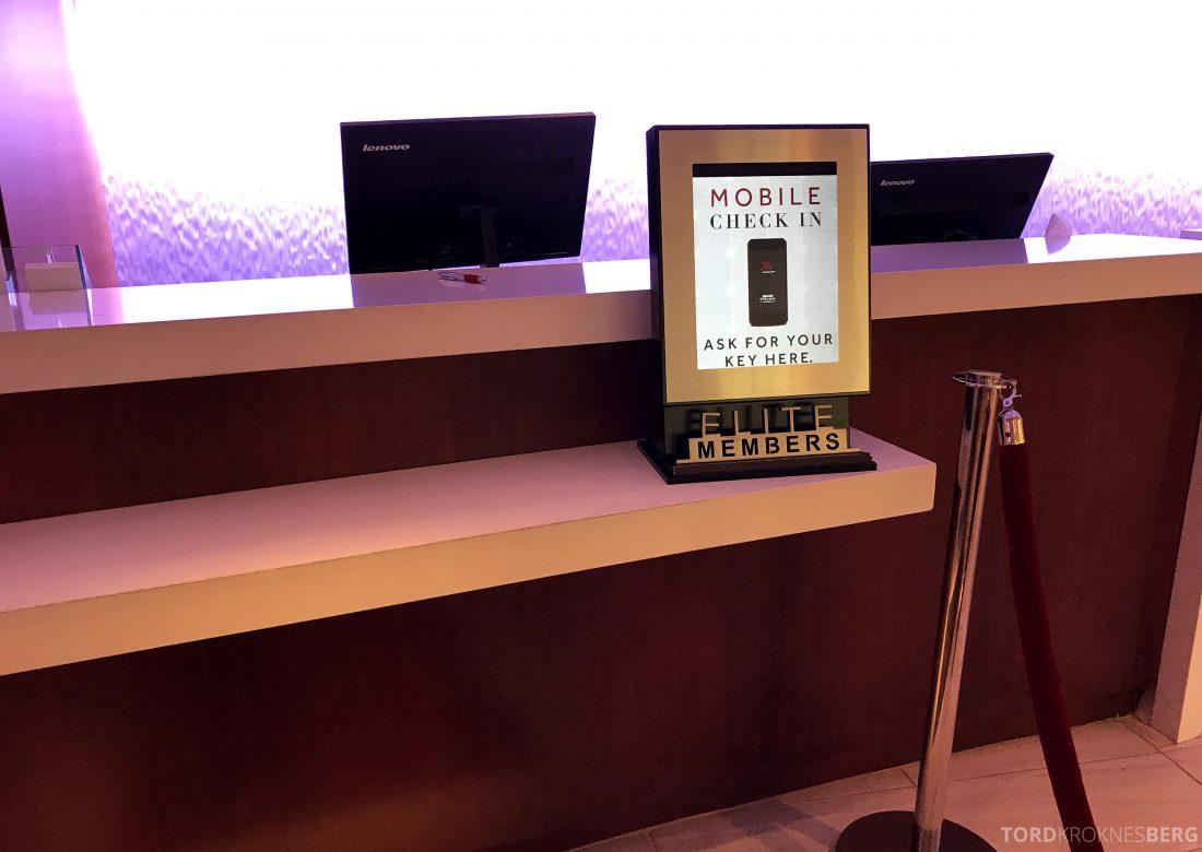 Miami Airport Marriott Hotel elite