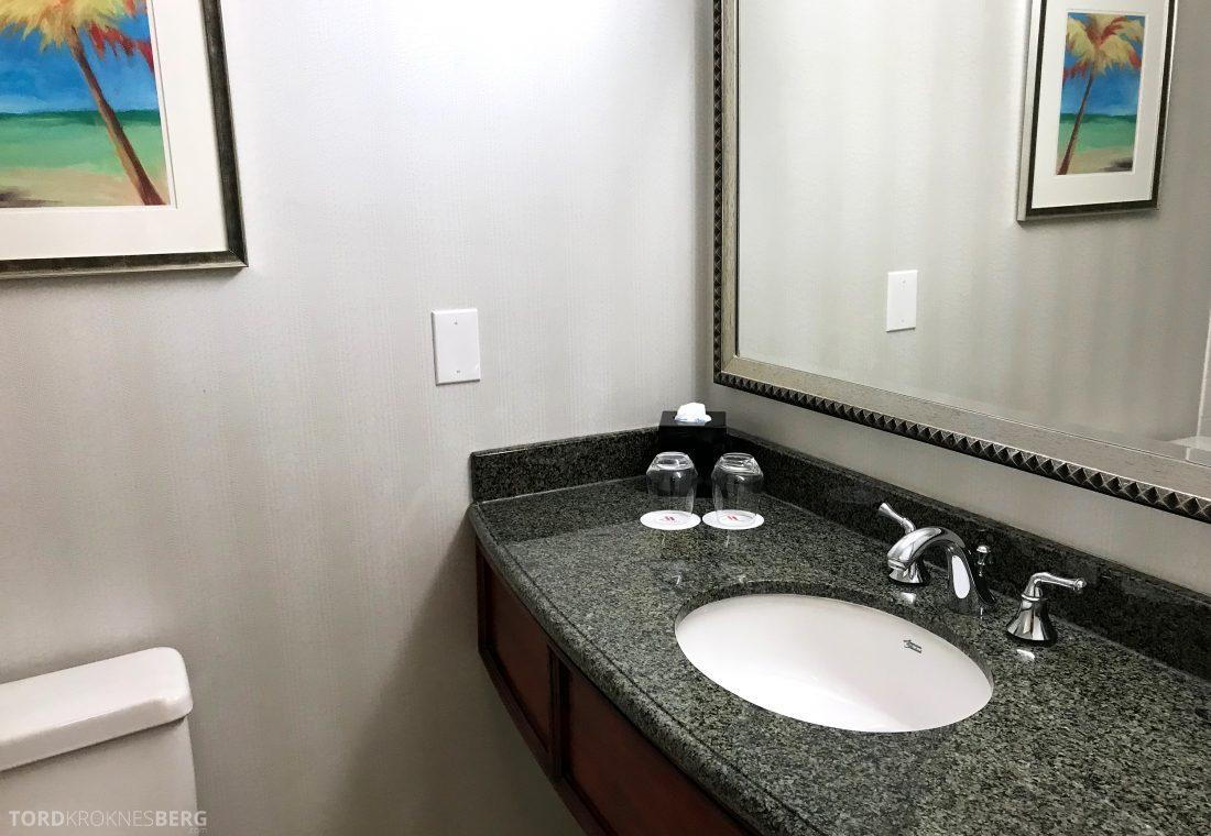 Miami Airport Marriott Hotel bad