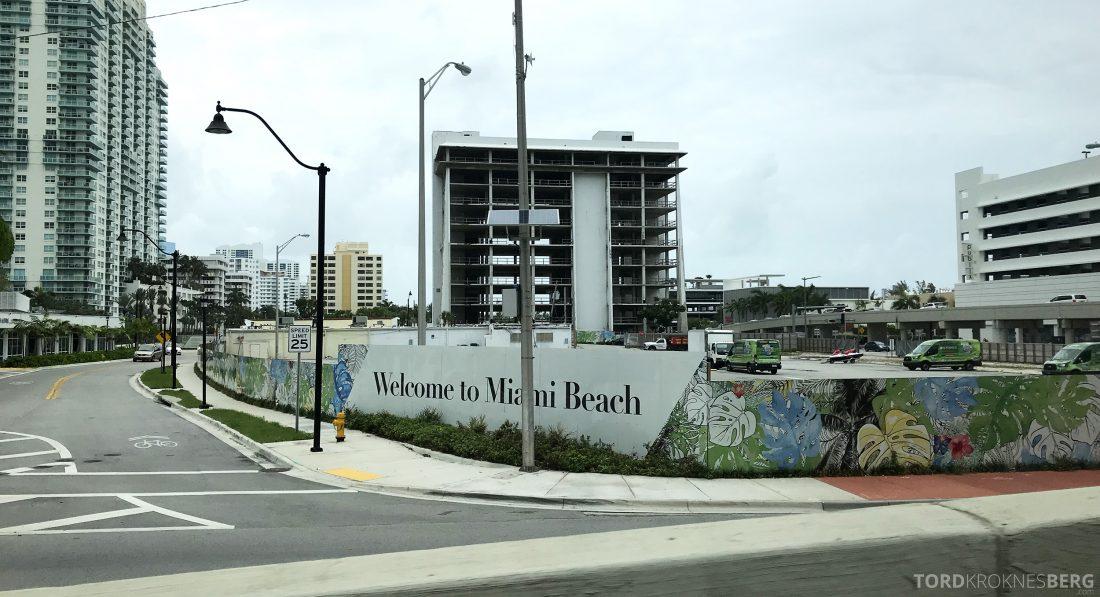 Miami Beach EDITION Hotel velkomst