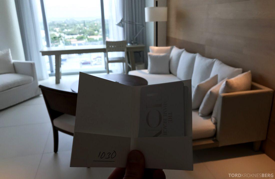 Miami Beach EDITION Hotel velkommen