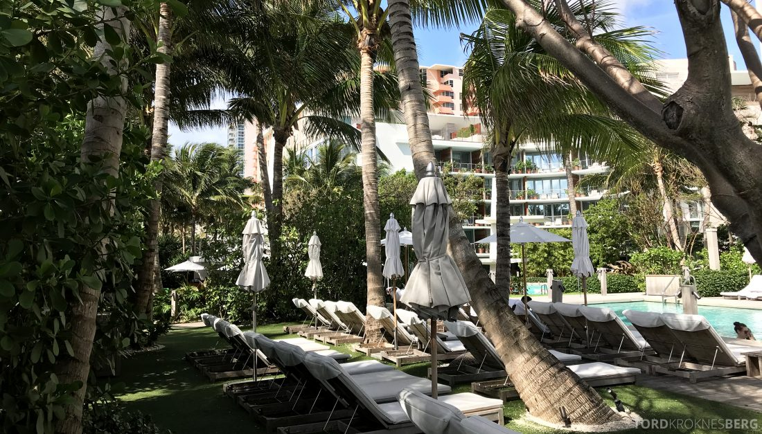 Miami Beach EDITION Hotel basseng