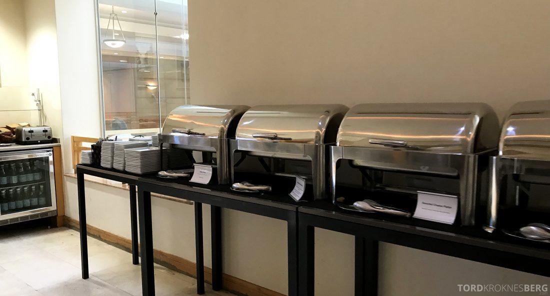 American Airlines Premium Lounge Miami buffet