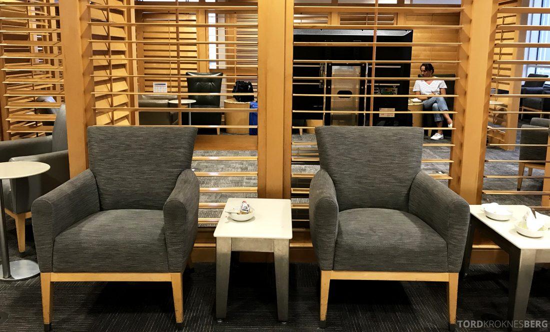 American Airlines Premium Lounge Miami sitteplasser