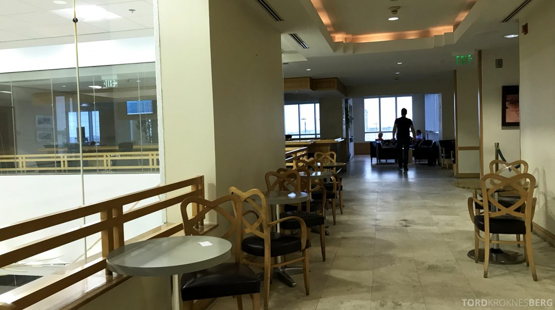 American Airlines Premium Lounge Miami plass