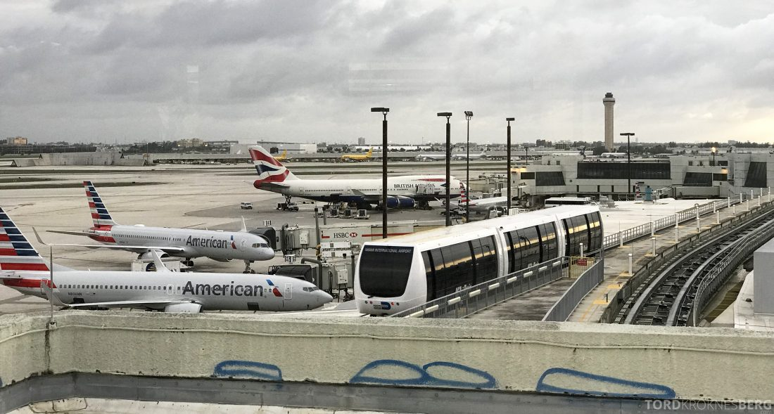 American Airlines Premium Lounge Miami fly