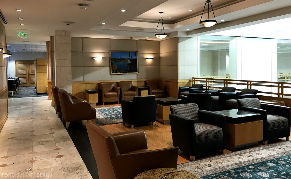 American Airlines Premium Lounge Miami omgivelser