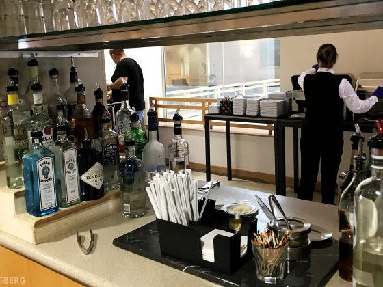 American Airlines Premium Lounge Miami bar