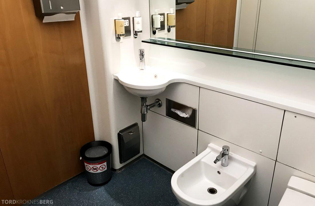 British Airways Concorde Room London toalett 2