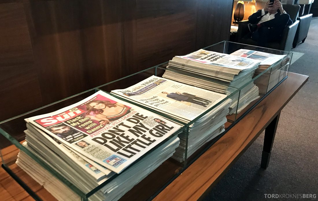British Airways Concorde Room London aviser