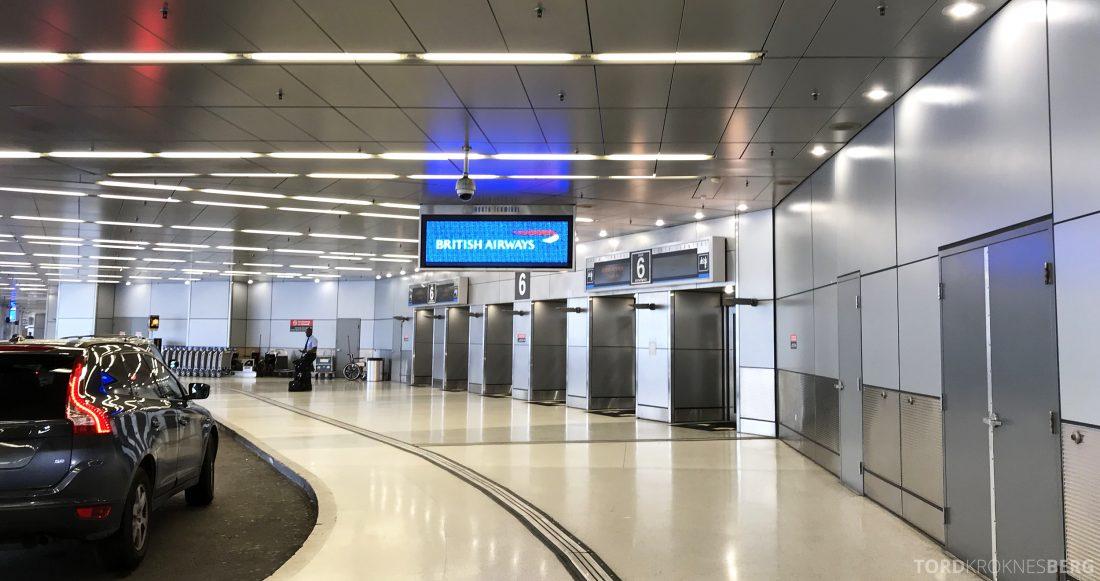 British Airways First Class Miami London terminal