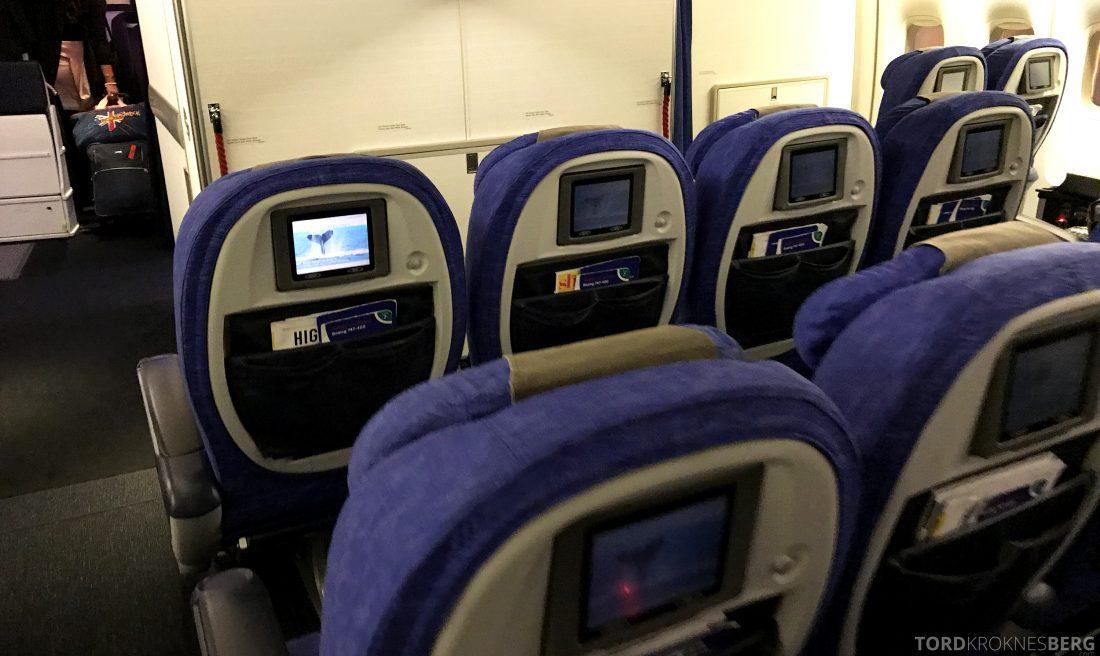 British Airways First Class Miami London økonomi