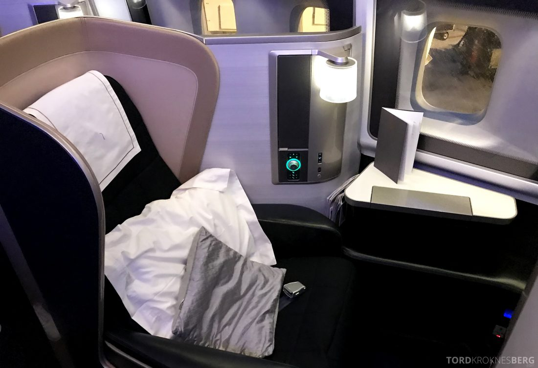 British Airways First Class Miami London sete