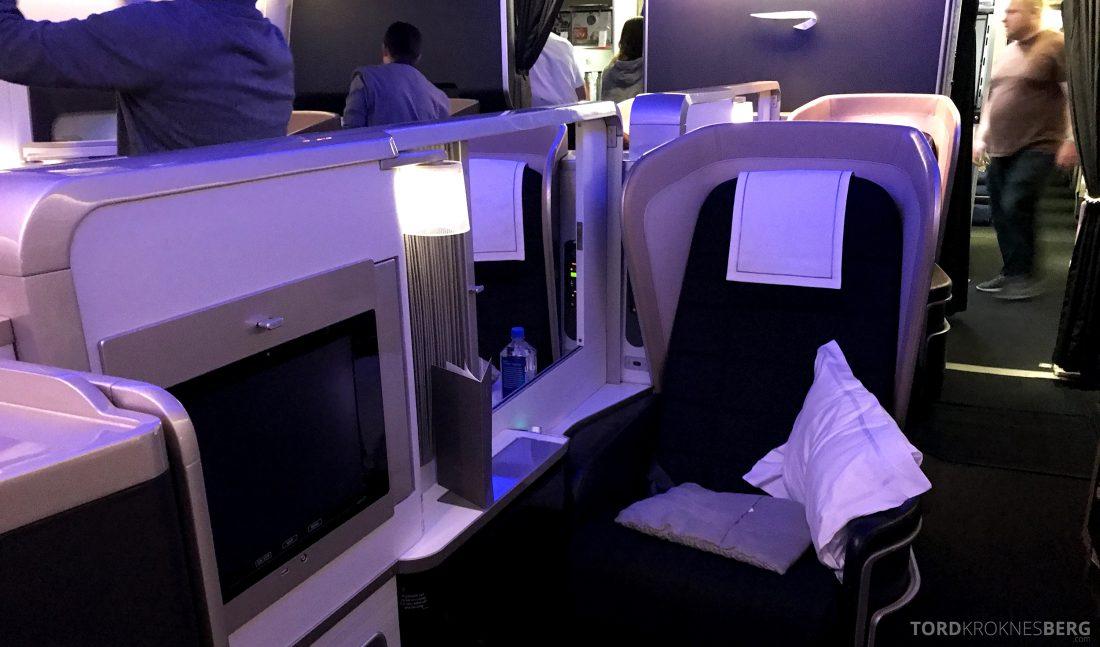 British Airways First Class Miami London midtsete