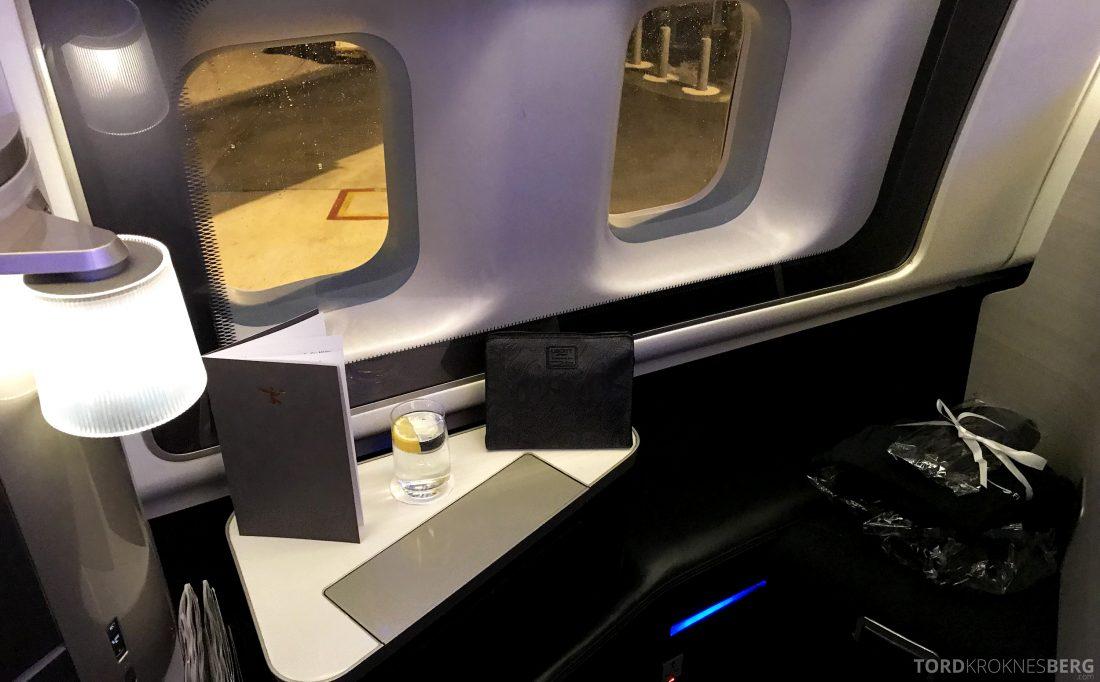 British Airways First Class Miami London sete 2