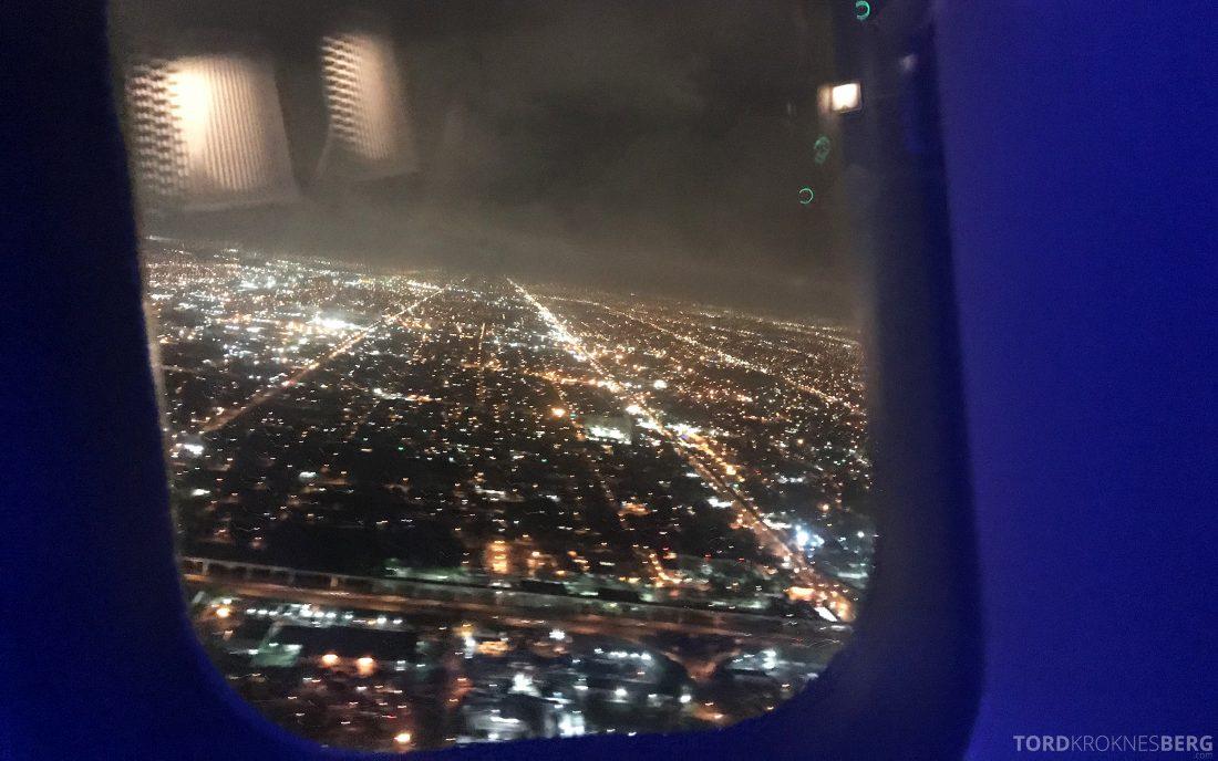 British Airways First Class Miami London adjø