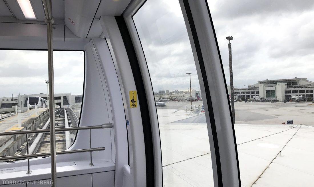 British Airways First Class Miami London transport