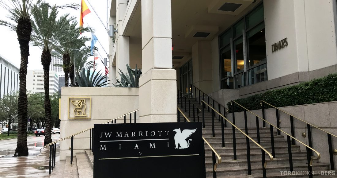 JW Marriott Miami Hotel inngang