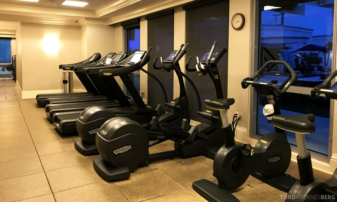 JW Marriott Miami Hotel gym apparater