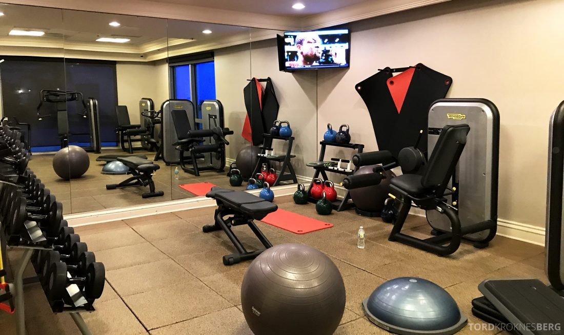 JW Marriott Miami Hotel gym