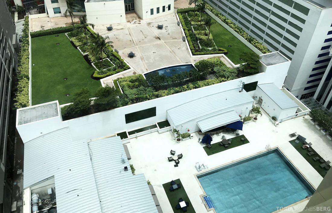 JW Marriott Miami Hotel bassengområde