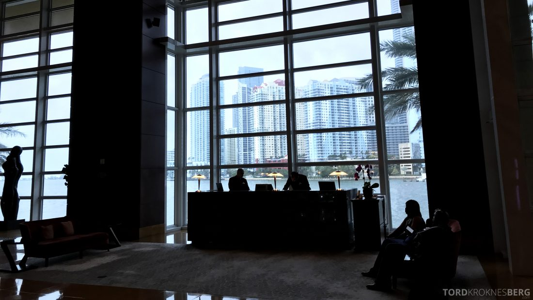 La Mar Restaurant Miami Mandarin Oriental Hotel lobby