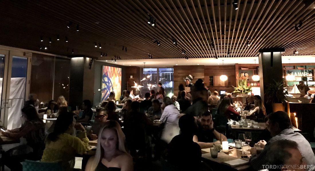 La Mar Restaurant Miami Mandarin Oriental Hotel lokale