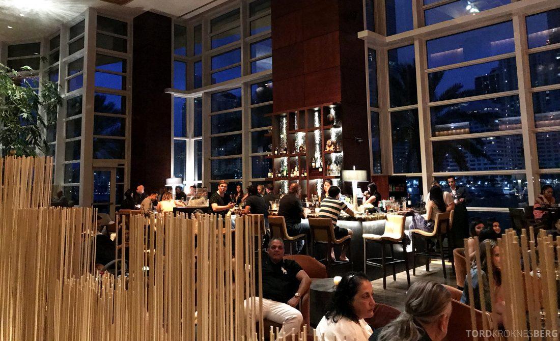 La Mar Restaurant Miami Mandarin Oriental Hotel lobbybar