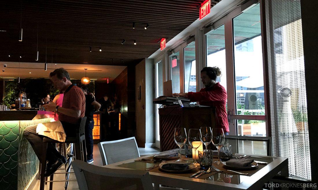 La Mar Restaurant Miami Mandarin Oriental Hotel DJ