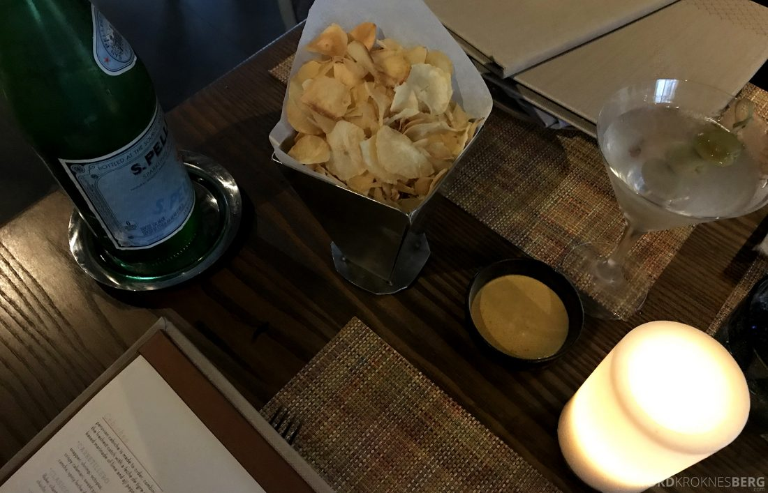 La Mar Restaurant Miami Mandarin Oriental Hotel snacks