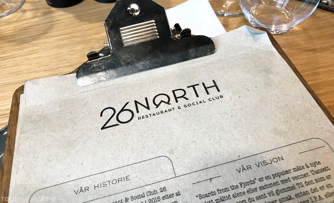 26 North Restaurant Gardermoen logo