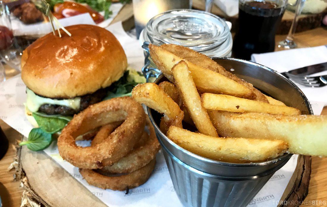 26 North Restaurant Gardermoen hamburger