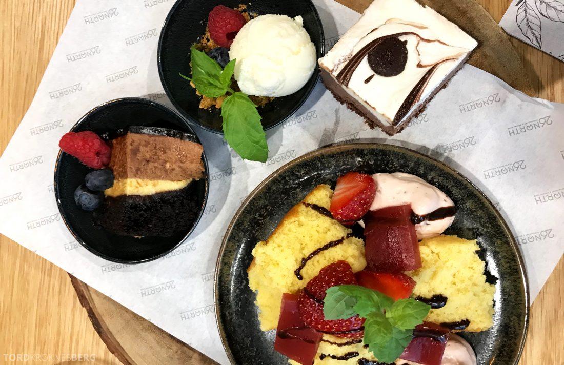 26 North Restaurant Gardermoen dessert