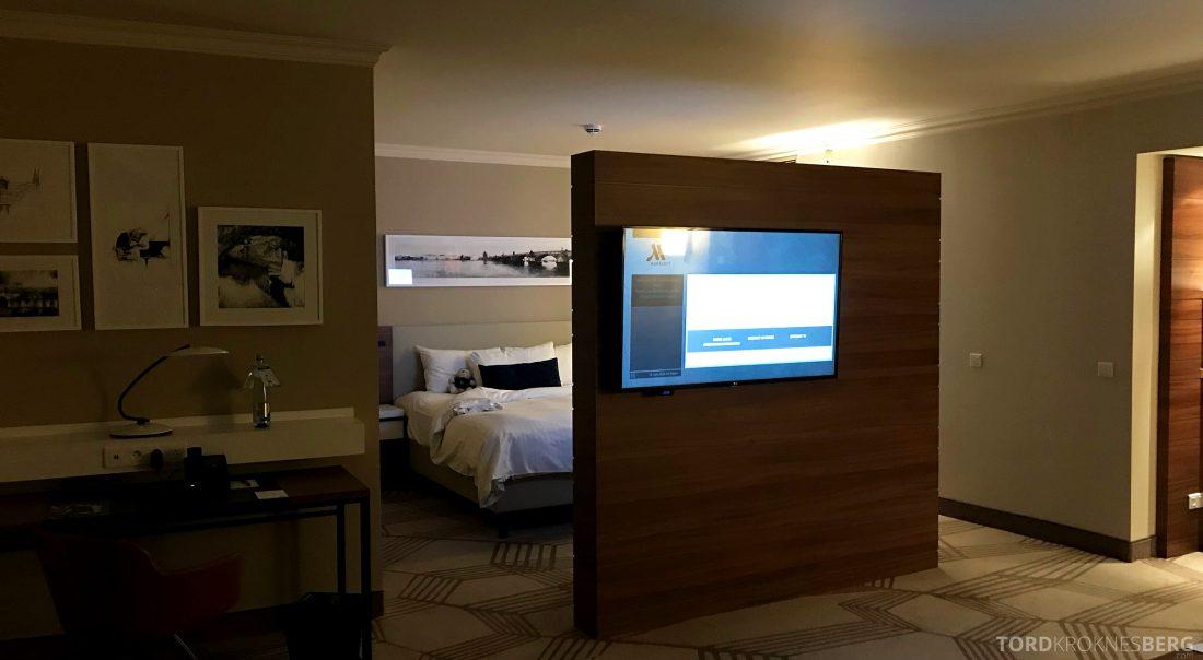 Marriott Prague Hotel suite