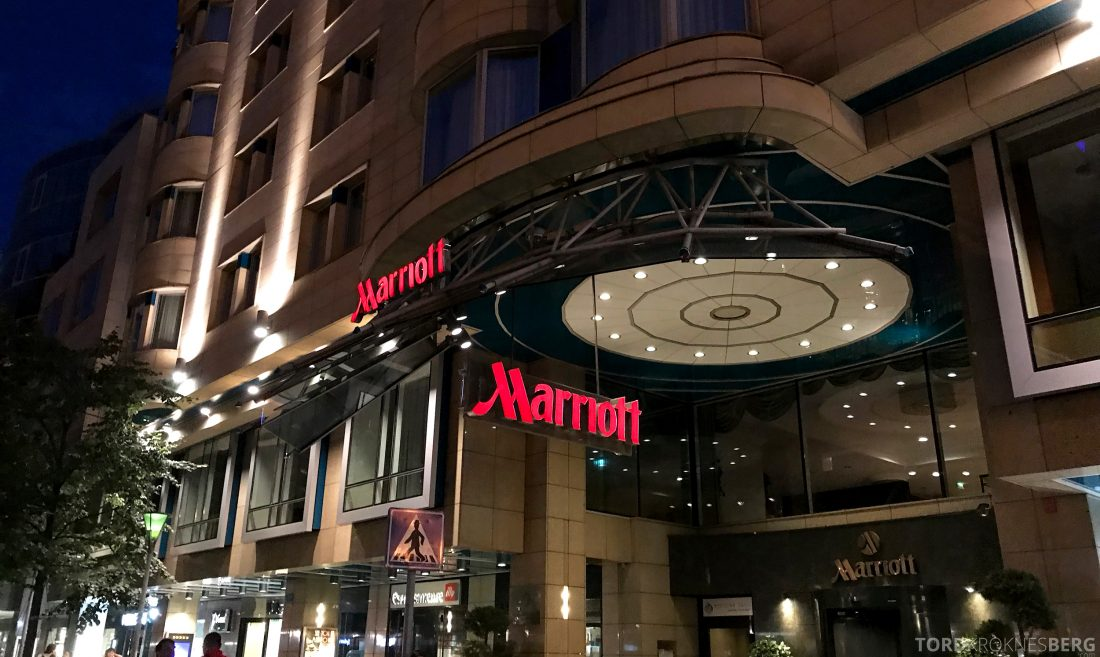 Marriott Prague Hotel inngangsparti
