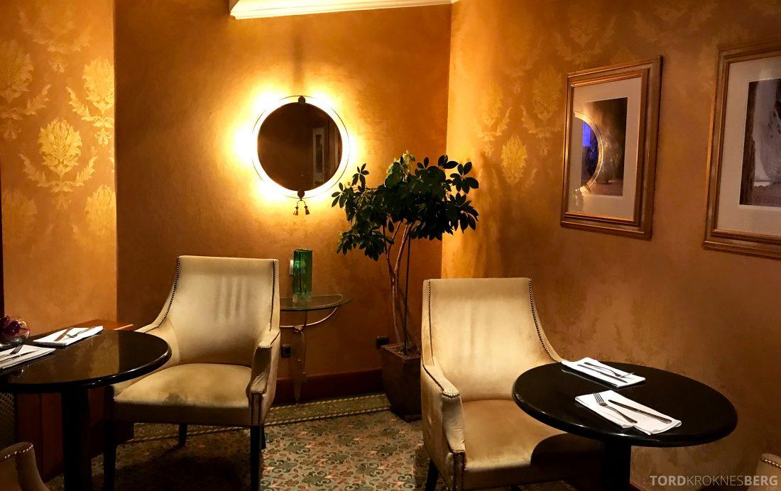 Marriott Prague Hotel Executive Lounge interiør