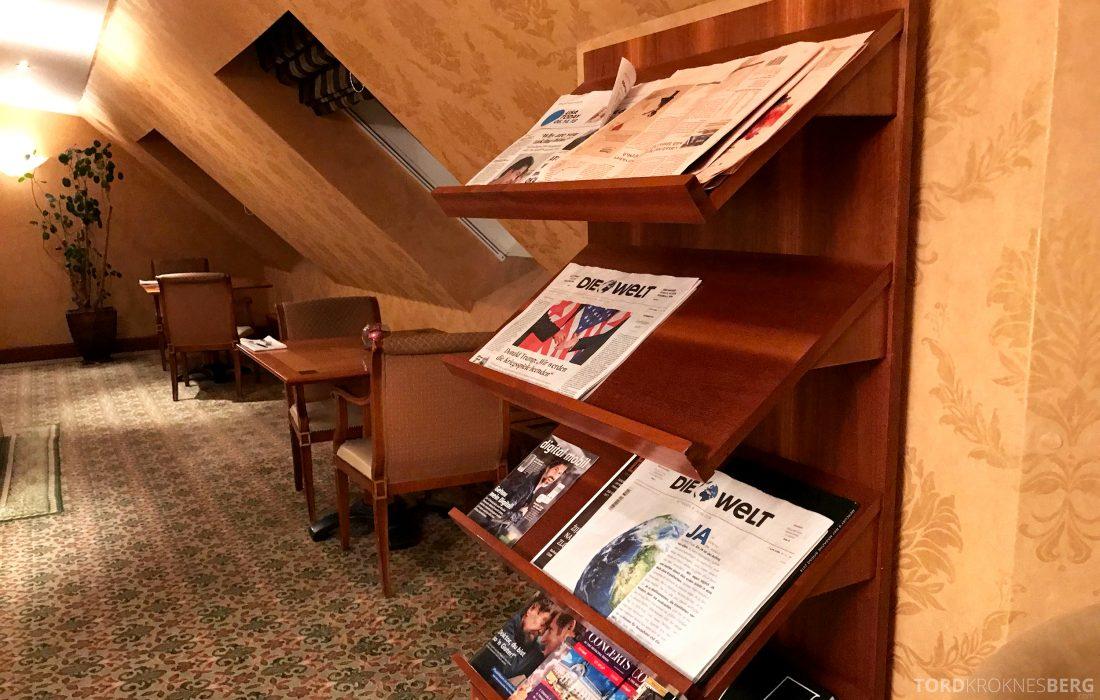 Marriott Prague Hotel Executive Lounge aviser