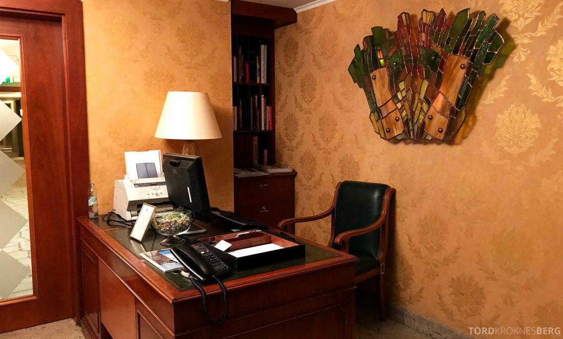 Marriott Prague Hotel Executive Lounge resepsjon