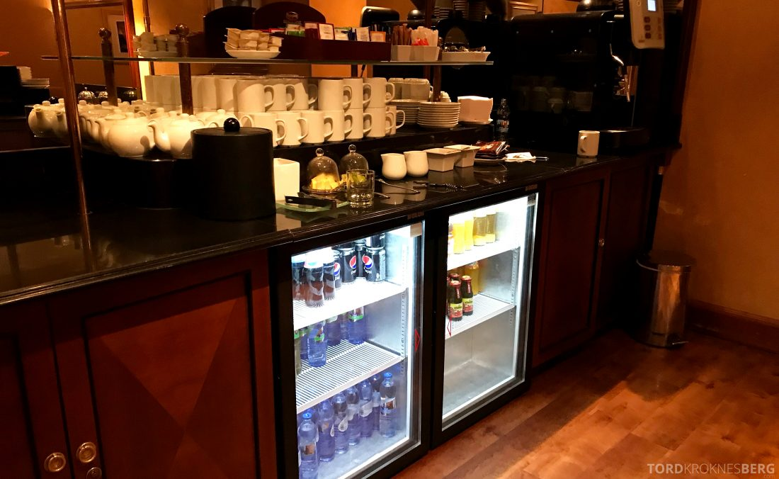 Marriott Prague Hotel Executive Lounge drikke